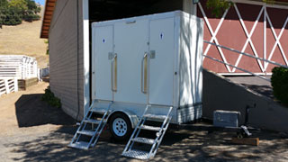 VIP Portable Restroom Trailer