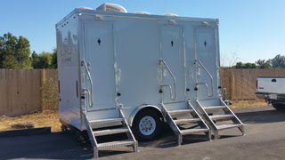 LUX Executive Portable Restroom Trailer